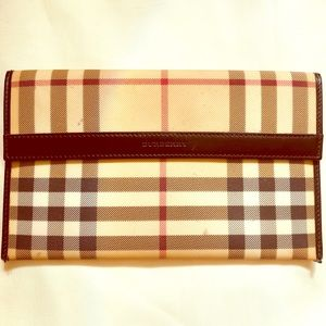 Burberry card holder/wallet